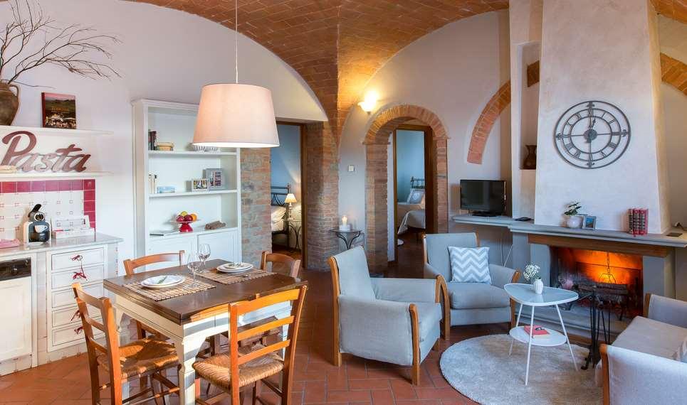 Ferienwohnung Ghizzolo Toskana